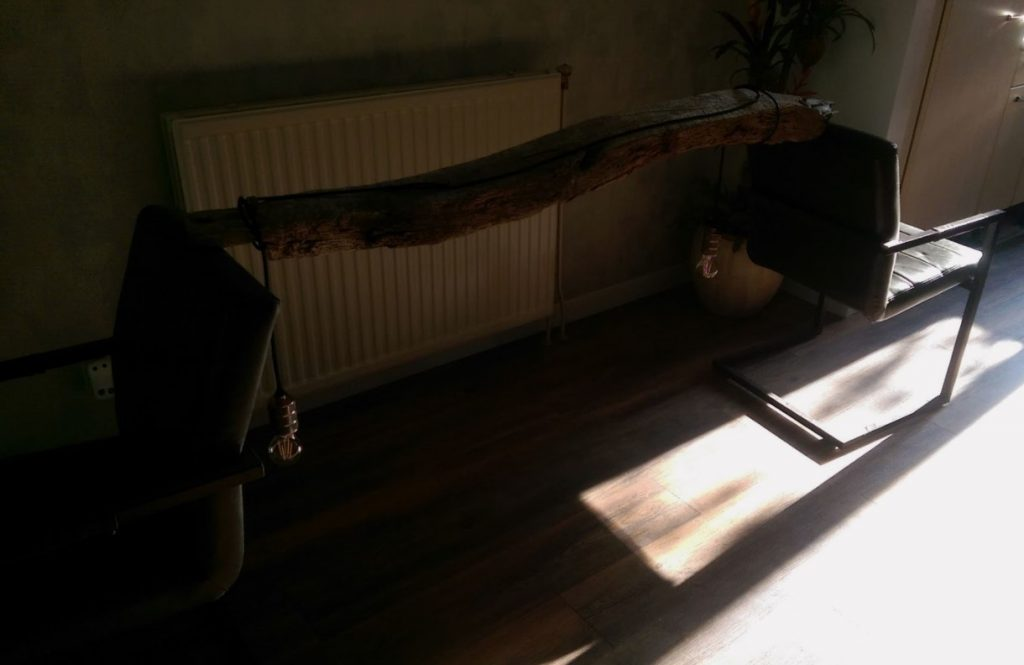 houten balk maken